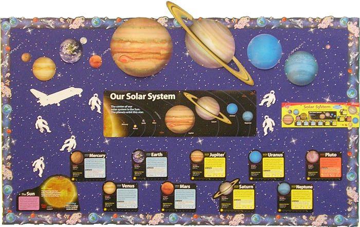 Solar System Crafts Education Station Bulletin Board