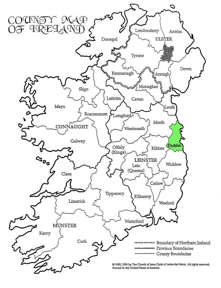 Best Research Ireland Images On Pinterest Family Tree Chart - Where is dublin