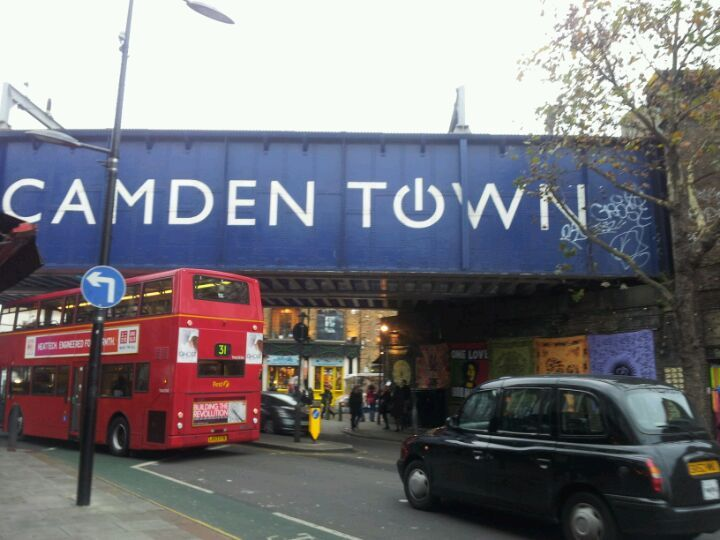 Camden Stables Market in London, Greater London
