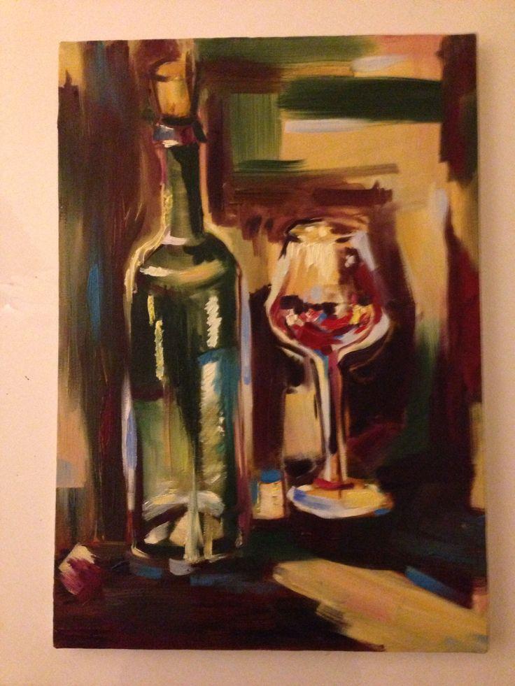 Ege 35x50 oil paint on canvas