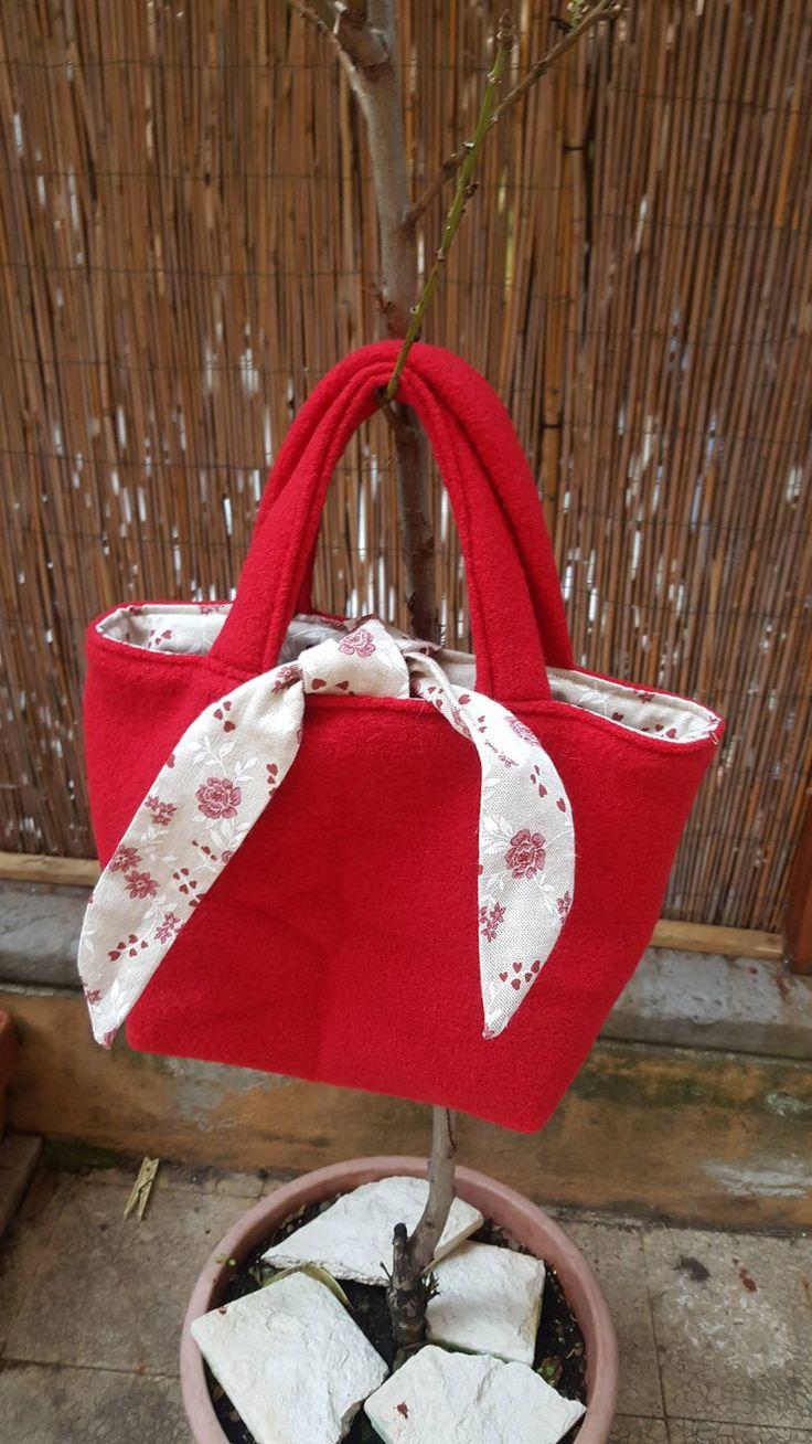 borsa a mano/handbag reversibile : Borsette di pantoufleelasuabanda