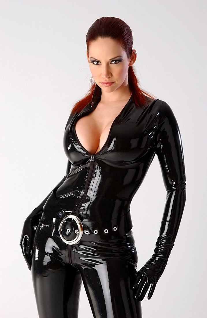 Latex catsuits xxx