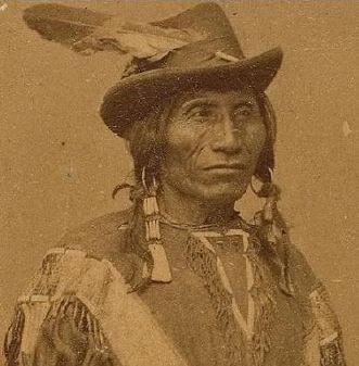 RED LEAF - SICANGU WAZHAZHA , circa 1878