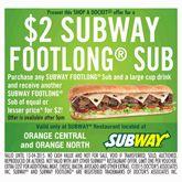 Subway Vouchers, Subway Coupons | Shop A Docket