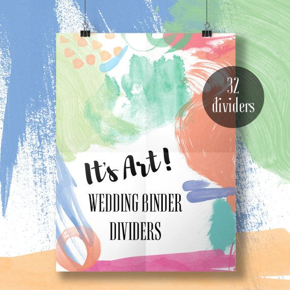 Printable Wedding Binder Dividers  wedding printable. The Wedding Club creates wedding printables, including checklists, to do lists, schedule sheets, timelines, printable wedding bundles, wedding binder printables, wedding binder dividers, supplier sheets, wedding worksheets, printable wedding planner, and more. Visit our blog + Etsy shop!