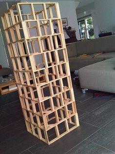 kapla bouwwerk
