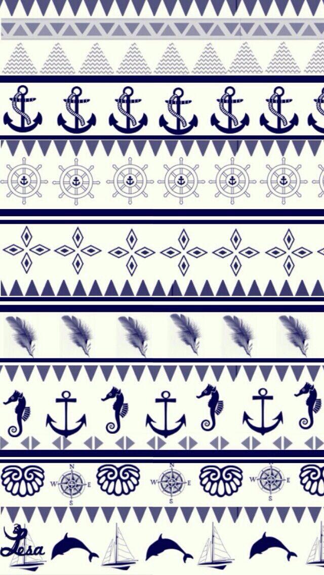 patrones marineros