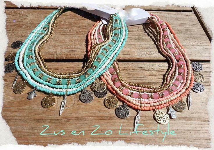 Boho-chique kettingen bij www.zusenzolifestyle.nl