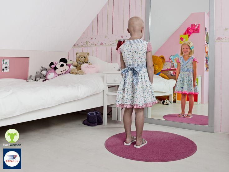 Stichting Haarwensen is al twee jaar een van onze hoofddoelen. Deze stichting zorgt ervoor dat kinderen een pruik van echt haar kunnen dragen. Zonder dat daar kosten aan verbonden zijn voor de ouders.