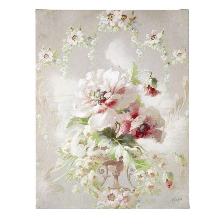 Peony Bouquet Canvas