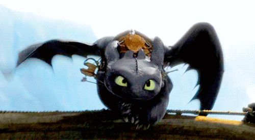 how to train your dragon toothless smile