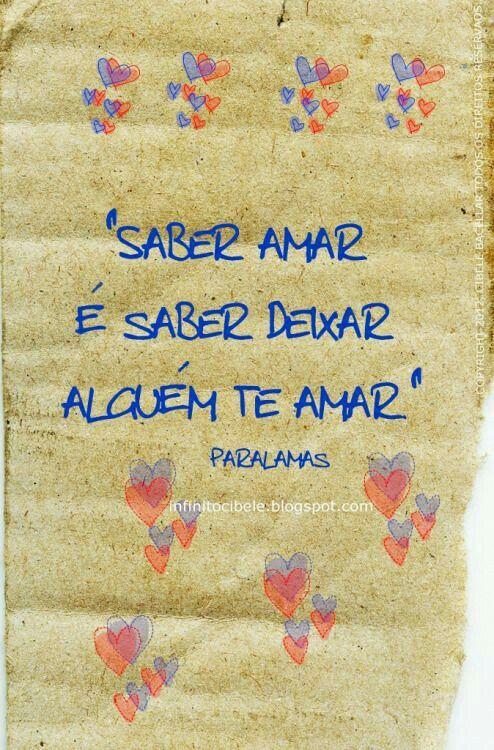 Quero amar e ser amado ....