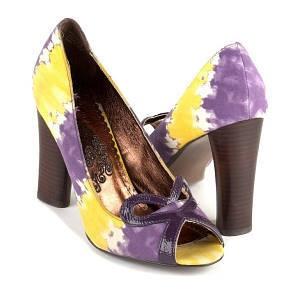 NAUGHTY MONKEY Heart Felt Heels Sandals Shoes  Size