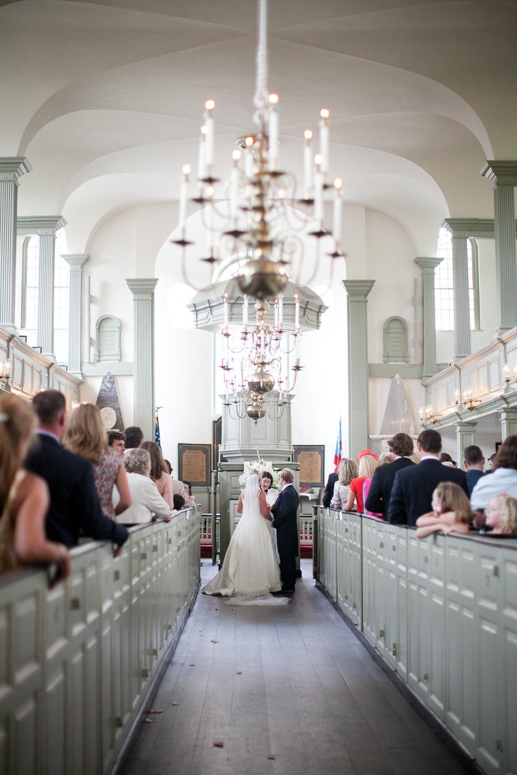 beautiful church ceremony photographed by meghan sepe weddings at the trinity church in newport