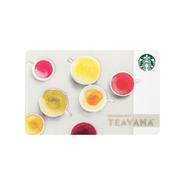 スターバックス コーヒー ジャパンのスターバックス カード Teavana™についてご紹介します。