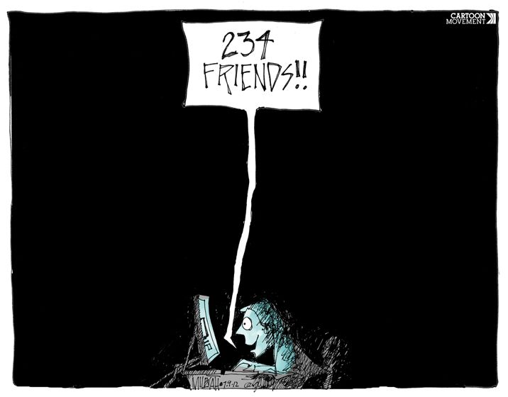 It's #SocialMediaDay. So check out our cartoon collection on social media: http://www.cartoonmovement.com/collection/82