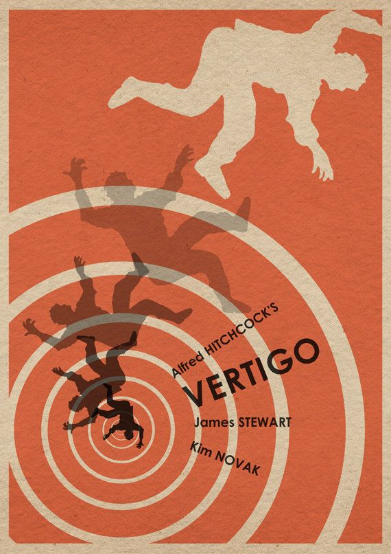 Vertigo 16x12 Movie Poster. $18.00, via Etsy.