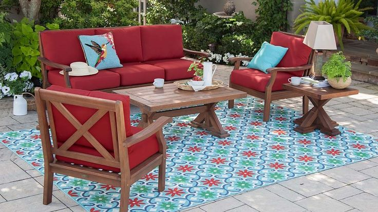 Our deep-seating Claremont Eucalyptus Furniture now features a deeper, richer finish and thicker, tailored cushions. Crafted from FSC-certified eucalyptus grandis, each piece is naturally weather-resistant and insect-repellent. The multi-step finish offers rich color and gorgeous good looks.