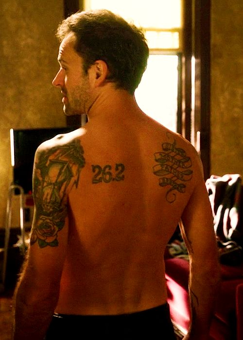 Pics For > Jonny Lee Miller Tattoos Are They Real