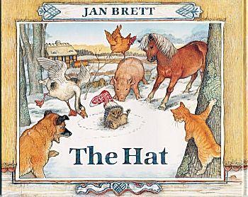 The Hat Graph online activity to compare animals in the story