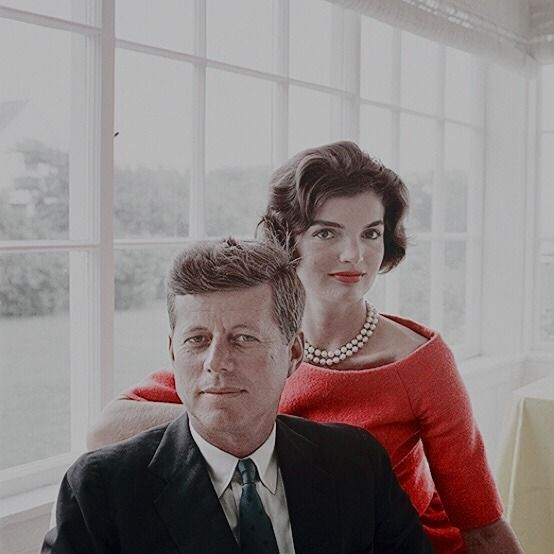 John F. Kennedy and Jacqueline Kennedy photographed by Mark Shaw in Hyannis Port, 1959.