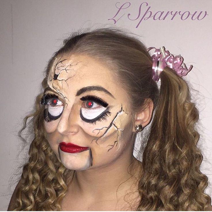 My creepy China doll special fx! ~ Follow me @ Facebook- L.Sparrow Designs ~ Instagram @LSPARR212