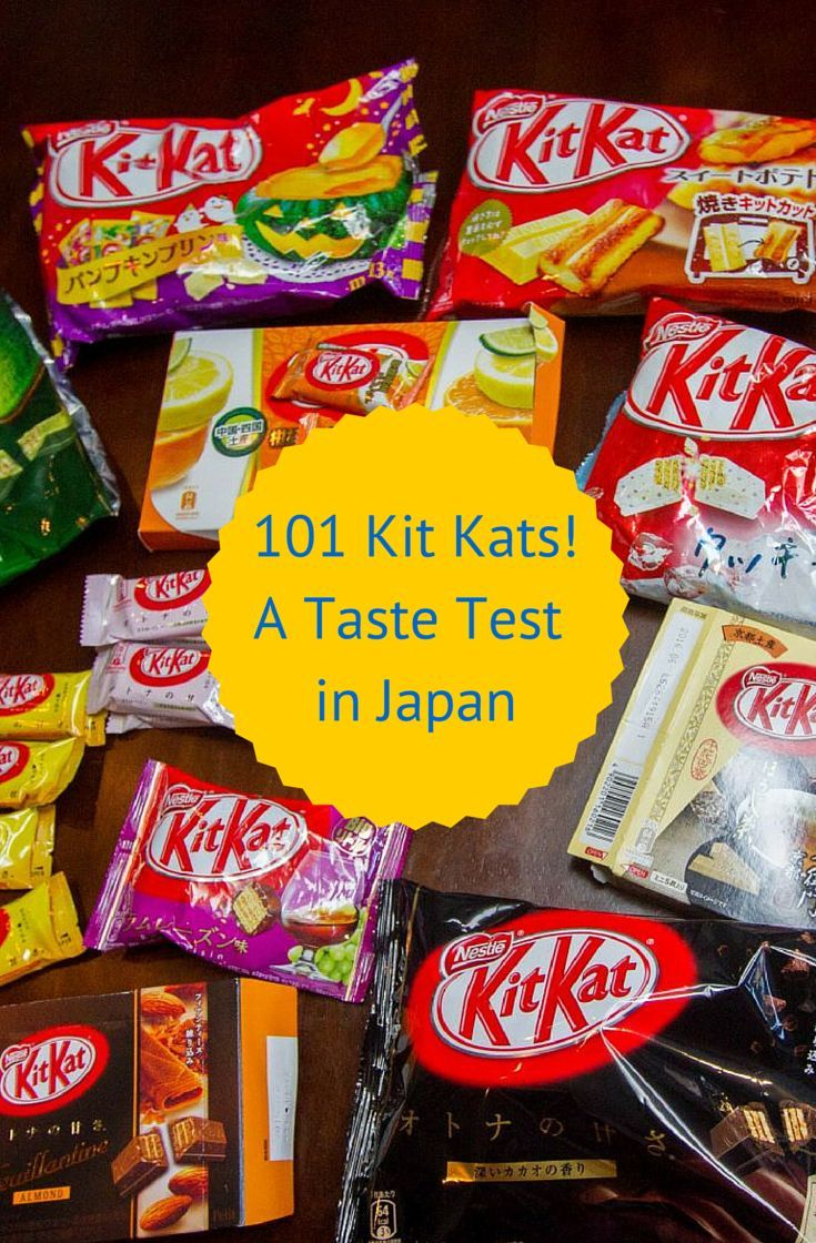*Video*                                   The Japanese do Kit Kats right and we take the challenge in our newest video.  Which ones will be a hit and which ones will be a miss.  You might be surprised!  Click through to learn all about the many different flavors of Kit Kats in Japan and which ones we would try again!