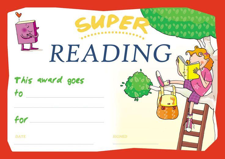Super reading award! Now avaible in English. Free download here: http://www.giocagiocagioca.com/2015/09/il-diploma-del-super-lettore.html
