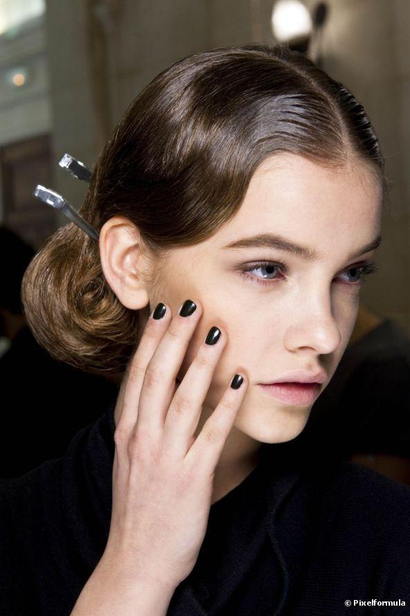 Nail Art: el esmalte negro