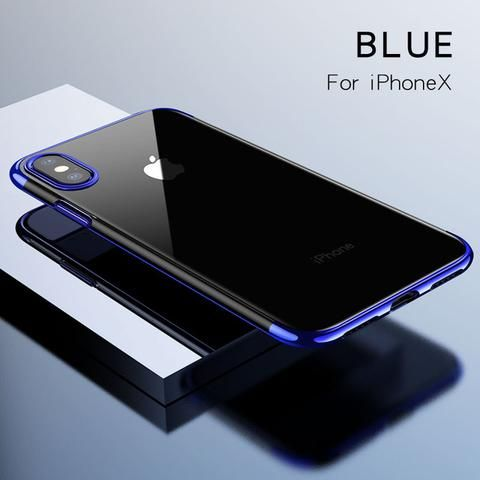 Ultra thin Protective Case for iPhone X - Blue,Gray,Red,Silvery Awesome iPhone 10 iPhone X Apple Products link website cases awesome products shops store buy for sale website online shopping free shipping accessories  phone covers beautiful gifts ideas Mens Womens Buy Online Shopping Store Shop protective Free Shipping Best Cheap Bulk Wholesale Gift Ideas Cases Australia United States UK Canada Deals AuhaShop.com