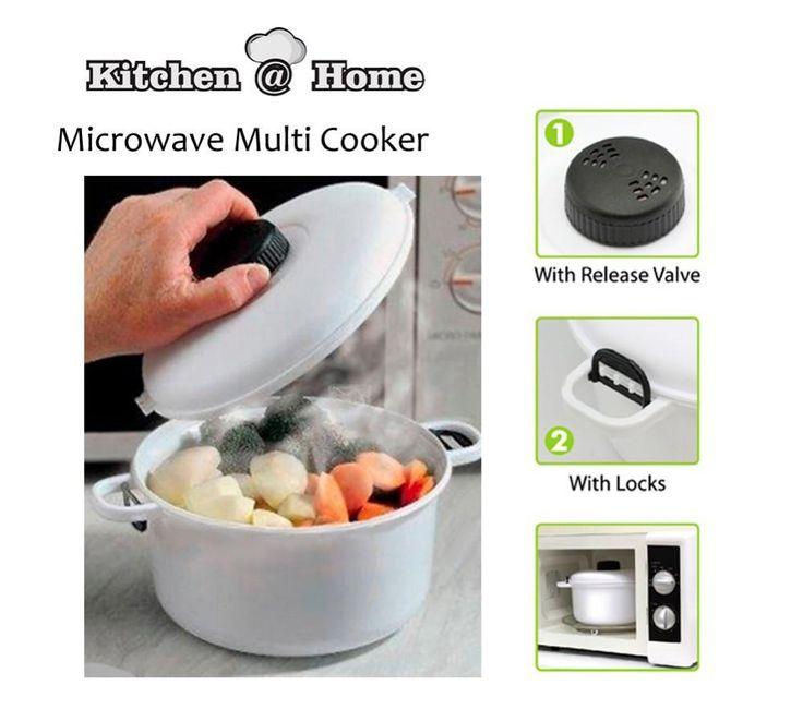 2.5L Microwave Steamer Pressure Cooker