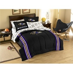 baltimore ravens bed in a bag comforter set cf