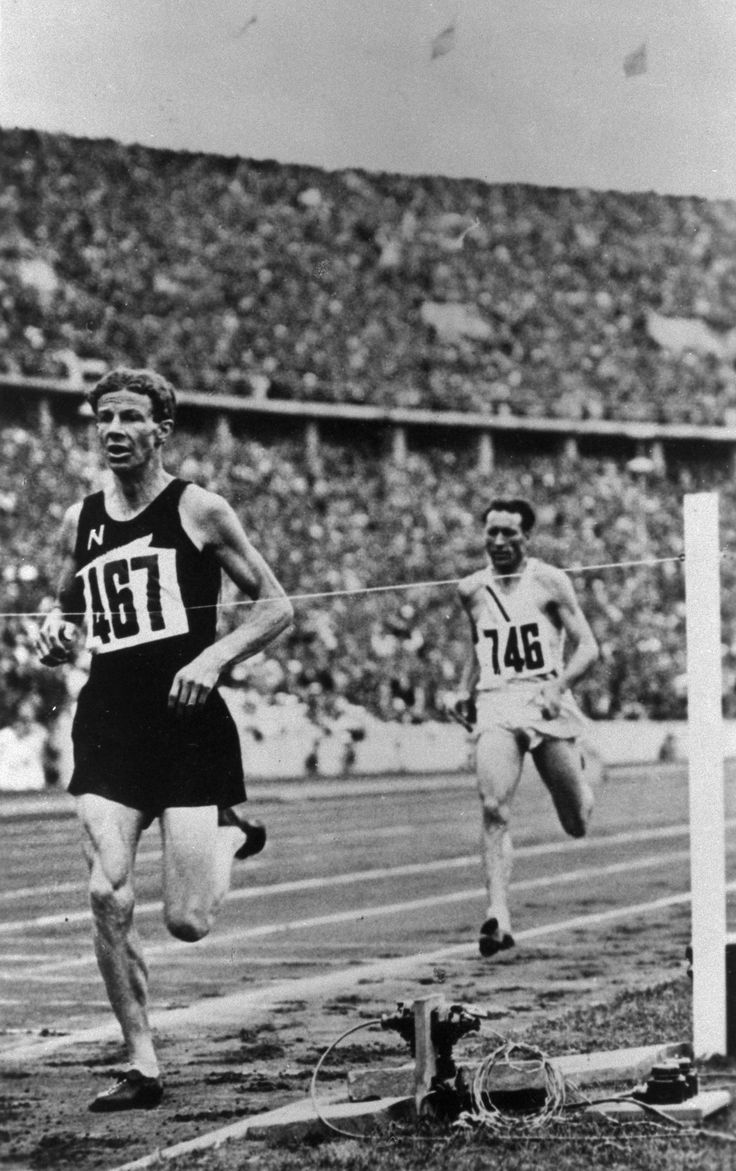 "Jack Lovelock (1936) was the first Kiwi to win an Olympic gold medal in a running event. ""Success is glorious only when nobly achieved,"" he said.#BetheInspiration #RoadtoRio"
