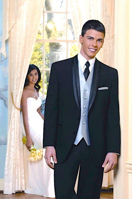 Thomas & Sons Tuxedos & Suits Black El Rey