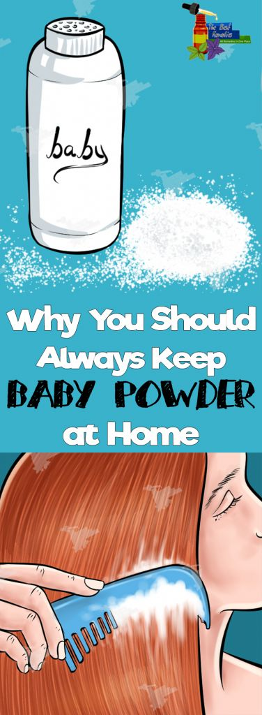Why You Should Always Keep Baby Powder at Home