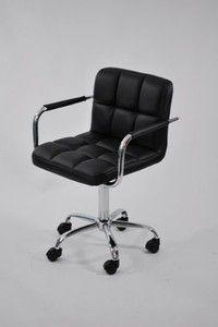 Designer Modern Studio Office Chair Black By Fine Mod Imports