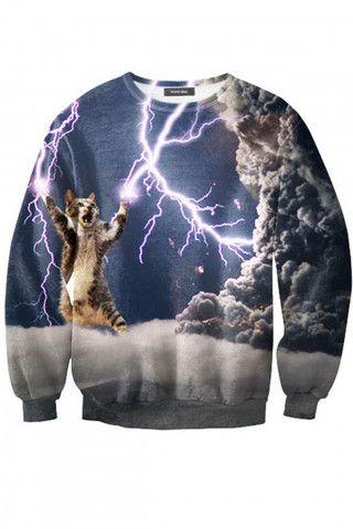 Thunder Cat Sweatshirt - RageOn....