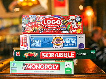 Sunday pub lunch followed by board games date