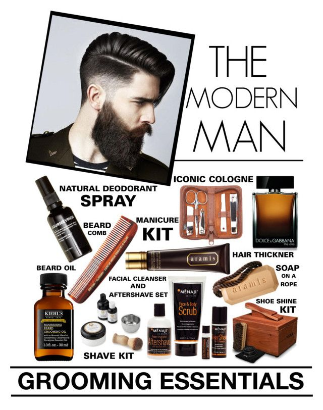 """""""The Modern Man - Grooming Essentials"""" by latoyacl ❤ liked on Polyvore featuring beauty, Royce Leather, Dolce&Gabbana, Blksmith, MÃ«naji, Kiehl's, Aramis, Baxter of California, Journeymen and Barba"""