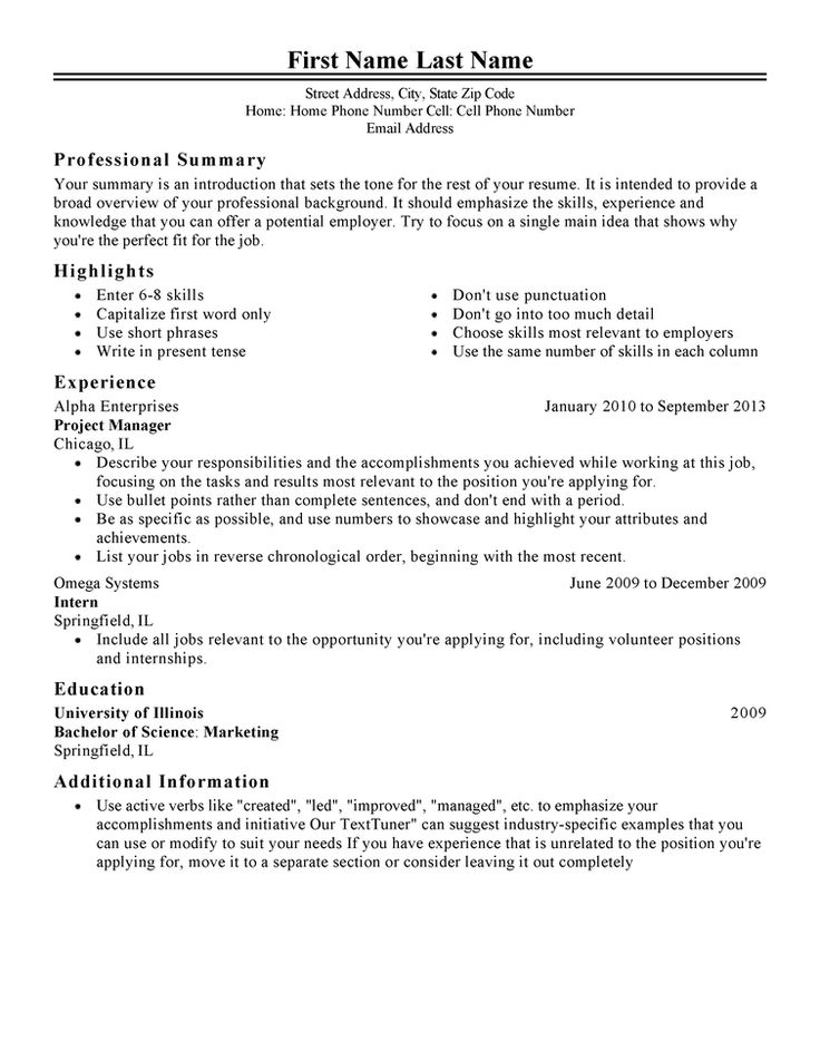 Resume Template Job How Resume Template Job Is Going To