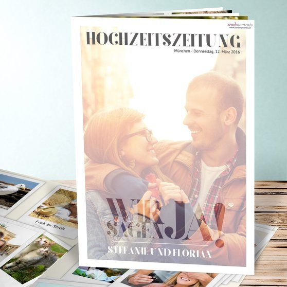 10 best images about hochzeitszeitung on pinterest personalized wedding newspaper design and. Black Bedroom Furniture Sets. Home Design Ideas