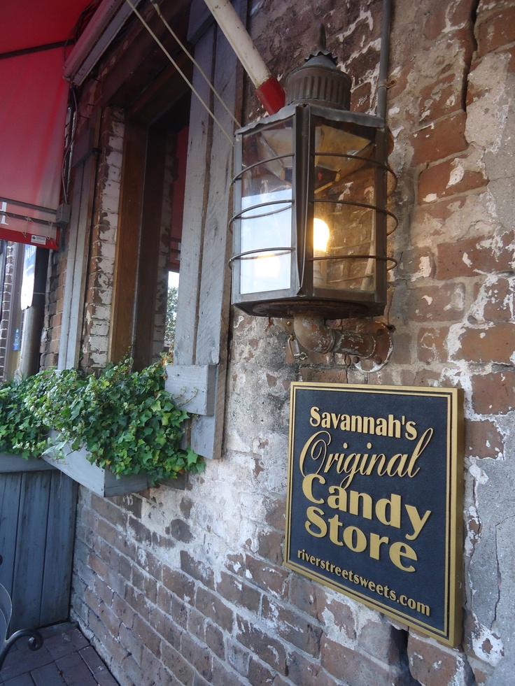 Savannah, Georgia---yummy pralines...