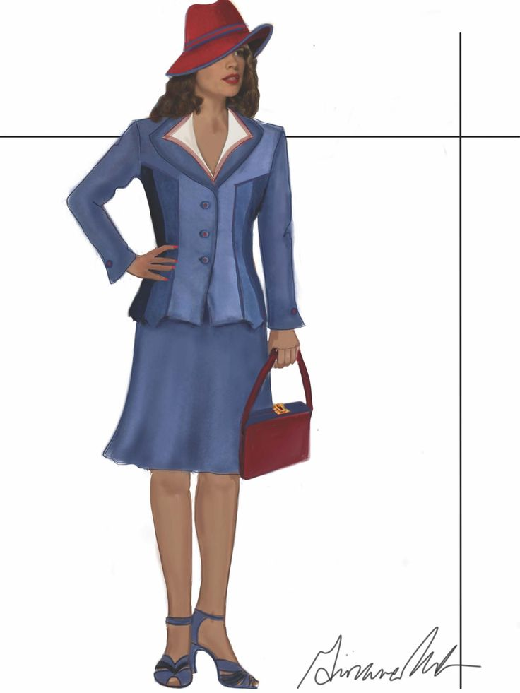 Sneak Peek at The Costumes of Marvel's Agent Carter! - Tyranny of Style