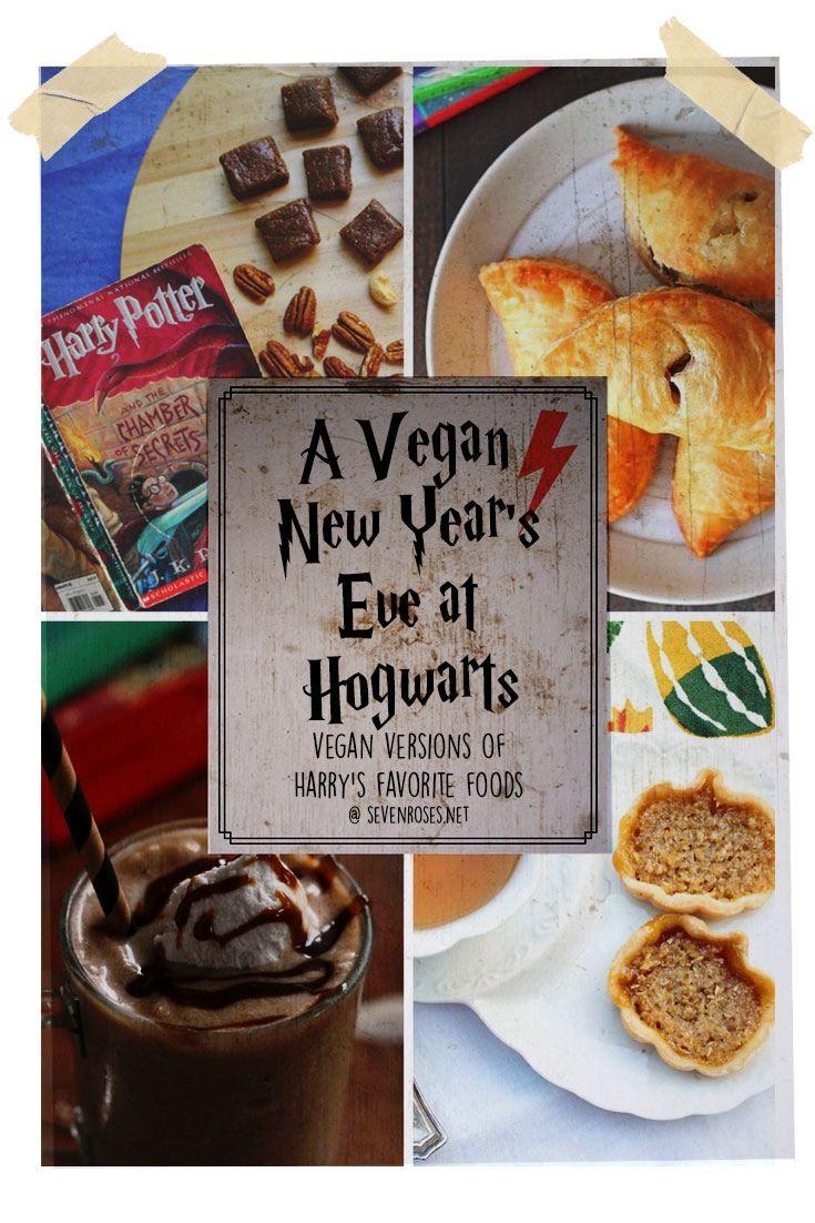 A Vegan New Year S Eve At Hogwarts Vegan Holiday Recipes Vegan Christmas Recipes