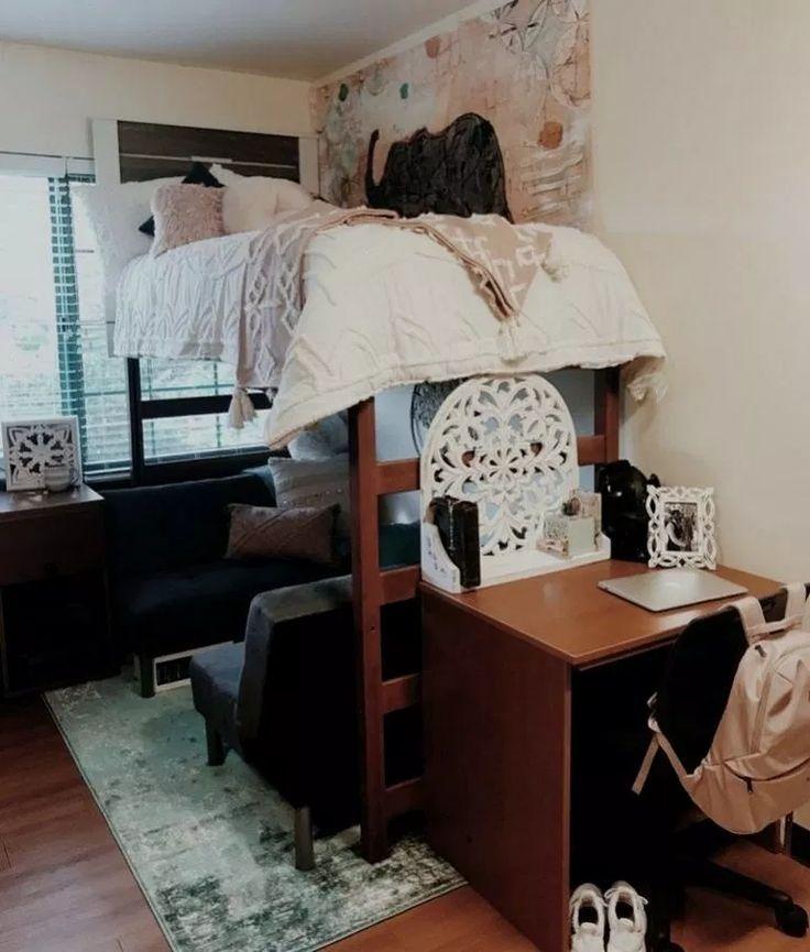 40 Designs für Mehrbettzimmer College #dormroomdesign ...