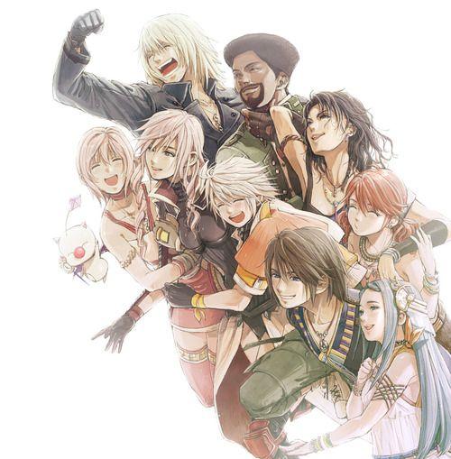 Final Fantasy XIII Family #ff13 #ffxiii