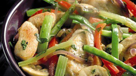 Aldi Stir-fried Chicken with Ginger - RTE Food