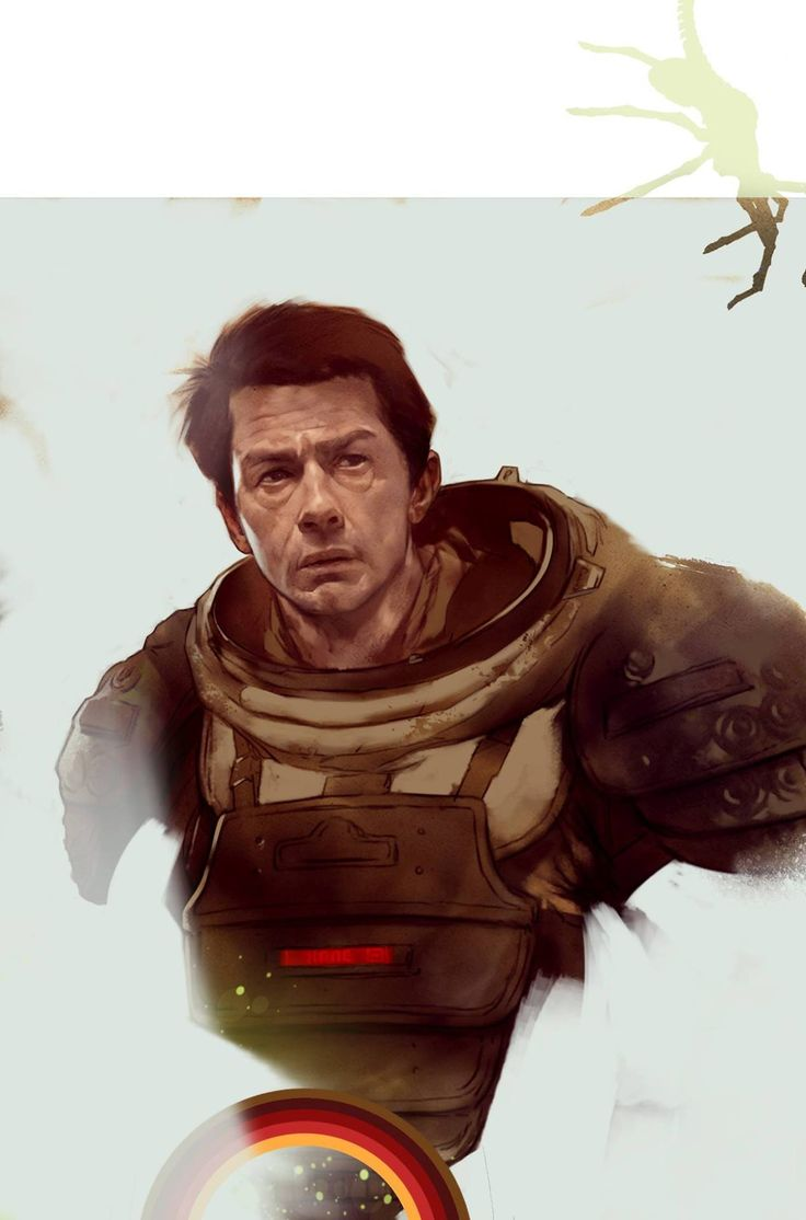 "bear1na: ""Alien: Kane - John Hurt (RIP) by Ben Oliver * """