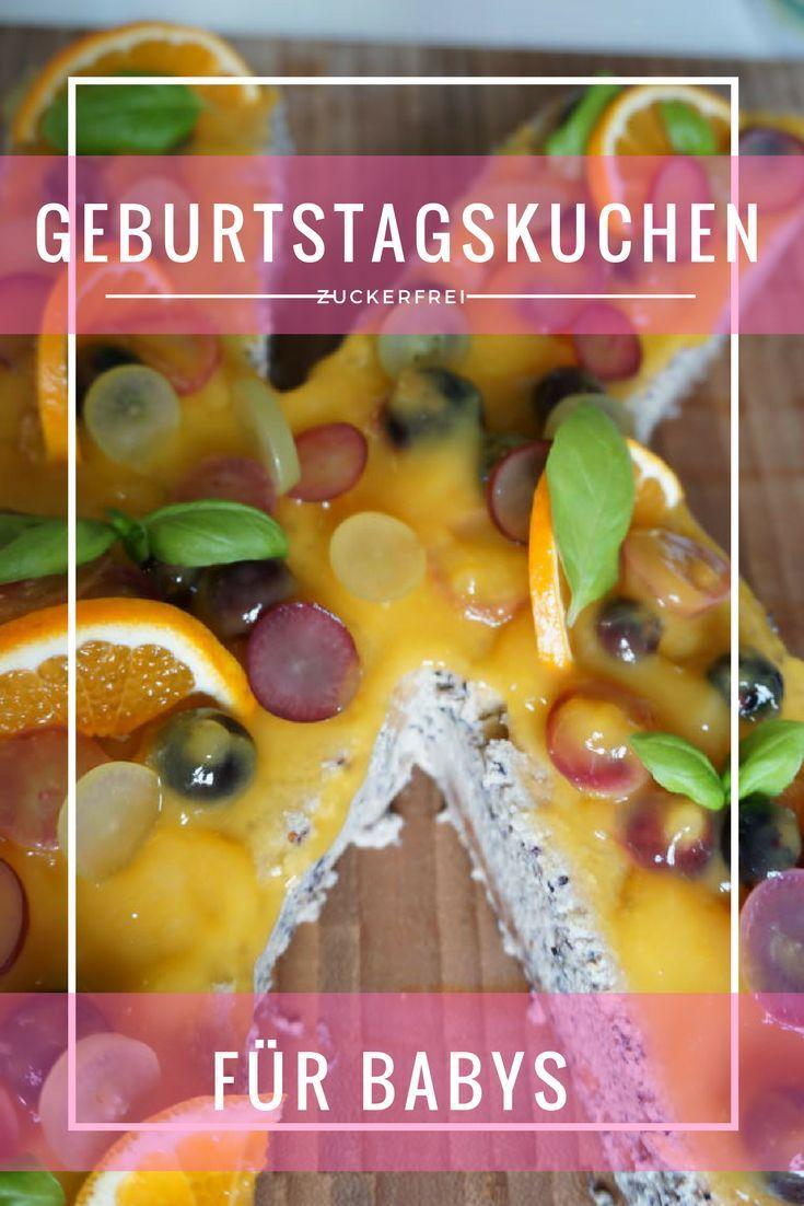 Geburtstagskuchen Zuckerfrei Backen Rezept Pinterest