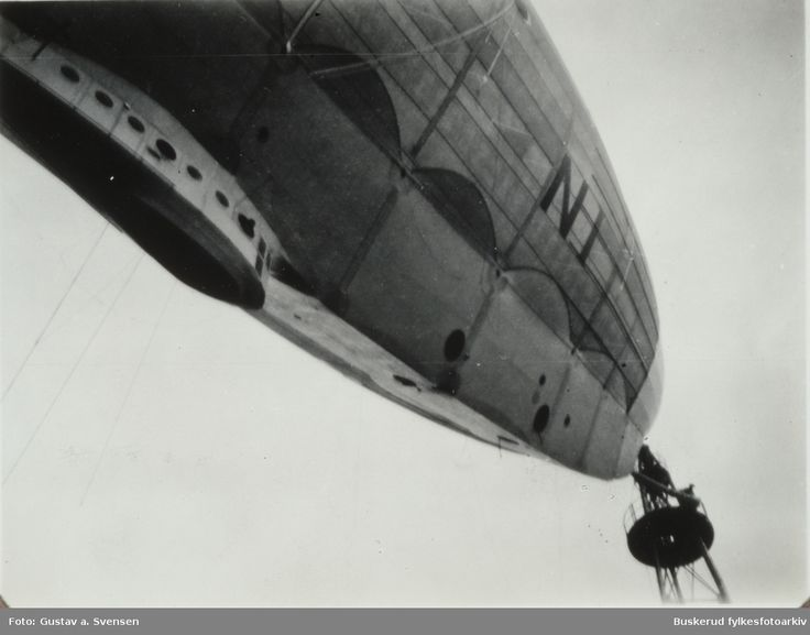 Norge flown by Amundsen, Ellsworth and Nobile